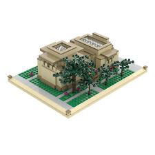 Atom Brick Building Set, Frank Lloyd Wright Unity Temple - 912 Piece Model
