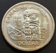 1958 Canada Silver $1 Dollar Coin - Mint Condition