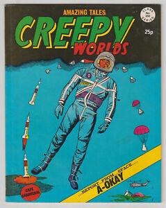 Creepy Worlds #232, RICHARD HUGHES, CHARLTON, ACG, Alan Class UK 1985 VG+  r