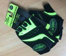 Fitness Handschuhe Fitness Glove black/schwarz neongelb Grösse S