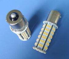 1x BA15S 1156 1141 LED bulb 126-3014 SMD AC/DC 11-28V 4W Super Bright,Warm White