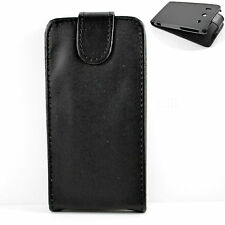 Black Magnetic Flip Leather Phone Sleeve Cover Case For Huawei Ascend G510 U8951