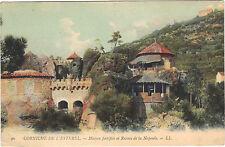 06 - cpa - LA NAPOULE - Maison fortifiée et les ruines de La Napoule