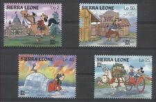 DISNEY Sierra Leone 4 val de 1987 CHEVAL
