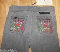 Stella McCartney girl jeans trousers 4-5 y BNWT designer  grey