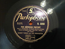 "SIDNEY TORCH & HIS ORCHESTRA ""Pan American Fantasy"" 78rpm 10"" 1951 NMINT+"
