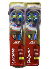 COLGATE Total 4 Zone 360 Advanced Whole Mouth Clean Toothbrush SOFT Lot Of 4