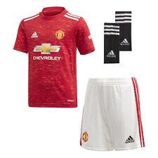Adidas Manchester United 2020/21 Enfants Junior Mini Football Accueil Kit Rouge