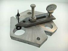 Clock Repair Tool Fixture for Drilling and Filing