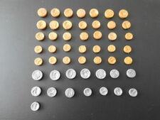 Playmobil  Zubehör für Schloss Piraten, Western - 35 Gold 15 Silber Taler (3558)