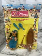 Toy Things Vintage lil indian princess lil indian princess playset new