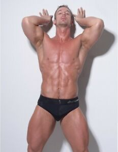 Luxury Men's Speedos / Underwear 2 in 1 with Frontal Push Up!! M/L Size