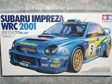 Tamiya 1/24 Subaru Impreza WRC2001 Model Kit #24240