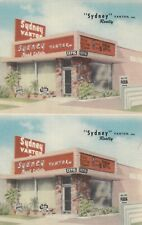 "N. HOLLYWOOD ,  California , 30-40s ; ""Sydney"" Vanton Realty"