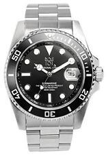 [HYAKUICHI 101] Divers watch date display 200 m waterproof black men?fs japan