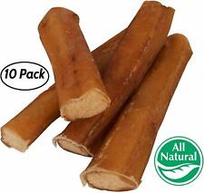 "5"" Straight Bully Sticks for Dogs [LARGE THICKNESS] - All Natural & Odorless"