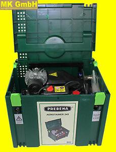 Prebena AEROTAINER 245 Kompressor im handlichen Systainer, geräuschgedämpft 8bar