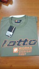 t-shirt da lavoro LOTTO works J3706 verde military (size L)