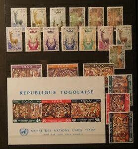 Weltweit:  Togo - Kunst / Kultur.  Postfrisch.