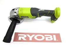 "RYOBI 18 V 18 VOLT 4-1/2"" INCH ANGLE GRINDER KIT SET CUT OFF TOOL P4221"
