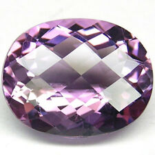 10,11 ct  Violet Amethyst - Oval Checkered Board - VVS - origin Brazil