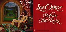 "MUSIC POSTER~Lee Oskar Before the Rain 1978 Vintage 12x24"" Jazz Original Print~"