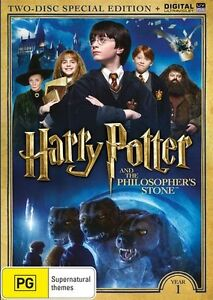 Harry Potter And The Philosopher's Stone (DVD, 2016, 2-Disc Set) Free Post