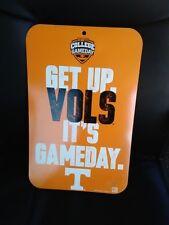 Tennessee Volunteers Wall Sign TN Vols Football