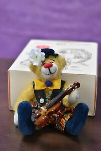 Hermann Clown Miniature with Violin Limited Edition Boxed