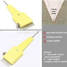 1x7 Adjustable Transfer Tool for All 4.5mm Knitting Machine Brother Household