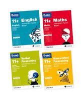 Bond 11 plus 10-11 Year Assessment Papers English Maths Verbal Reason 4 Book Set