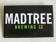 BEER Brewery BUTTON Pinback ~ MADTREE Brewing Co ~ Cincinnatti, OHIO Breweriana