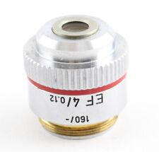 Leitz EF 4x 0.12 160 Microscope Objective