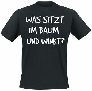 Huhu  Männer T-Shirt schwarz   Funartikel, Sprüche, Tiere & Haustiere