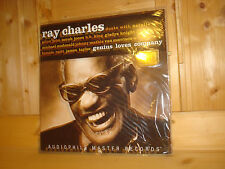 RAY CHARLES Genius Loves Company ORIG PURE AUDIOPHILE 2x 180g LP NEW SEALED OOP