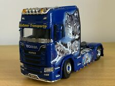 WSI WABMER TRANSPORT SCANIA S HIGHLINE 4X2 1:50 SCALE BRAND NEW