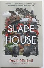 DAVID MITCHELL - SLADE HOUSE  HAND SIGNED BOOK  AUTOGRAPHED
