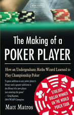 The Making of a Poker Player, Matros, Matt, New Book