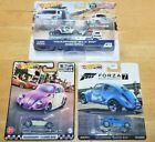 Hot Wheels ~ Team Transport ~ Volkswagen BAJA Bug ~VW Classic Beetle ~Lot of 3