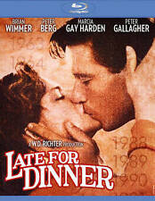 BLU-RAY Late for Dinner (Blu-Ray) NEW Brian Wimmer, Marcia Gay Hardin