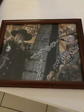 Montgomery Gentry Autographed 8x10