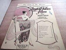 Vintage 1920~The Girls of My Dreams~ZIEGFELD FOLLIES OF 1920~Irving Berlin