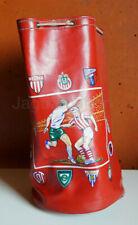 Mexico vintage Football Soccer Mexican teams duffel bag 1950s SUPER RARE