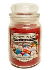 Yankee Candle Home Inspiration Large Jar Festive Red Sparkle and Shimmer 538g