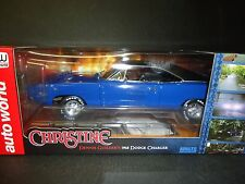 Auto World Dodge Charger 1968 Dennis Guilder's Car Christine 1/18