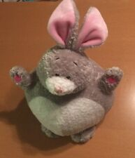 Snuggie Toy Gray Bunny Rabbit Plush By DGE Corg 13""