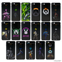 Overwatch Soft iPhone 4s/5/5s/SE/5c/6/6s/7/8/Plus/10/X Case/Cover / Silicone Gel