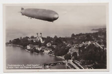 Photo AK DIRIGEABLE GRAF ZEPPELIN Friedrich port tampon visite AIRSHIP