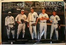 """Rare 1992 Costacos Field of Dreams Chicago White Sox 23 x 35"""" Laminated Poster"""