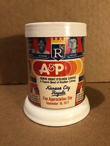 Vintage Kansas City Royals 1977 Fan Appreciation Day Coffee Cup Mug